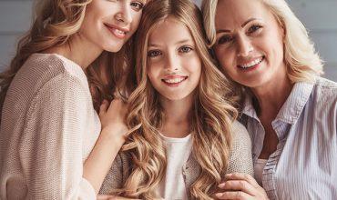 נשים: סבתא, אמא ובת